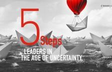 ปฏิบัติการ 5 ขั้นตอนสำหรับผู้นำในยุคแห่งความไม่แน่นอน