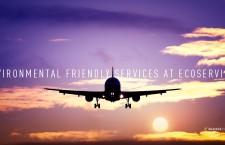 บริการเพื่อการบินที่เป็นมิตรกับสิ่งแวดล้อม