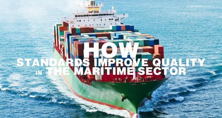 """""""มาตรฐาน"""" ปรับปรุงคุณภาพในอุตสาหกรรมการขนส่งทางน้ำได้อย่างไร"""