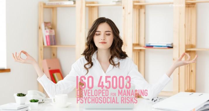 มาตรฐานใหม่ล่าสุดเพื่อสุขภาพจิตของชีวิตคนทำงาน