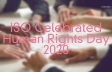 ไอเอสโอร่วมฉลองวันสิทธิมนุษยชน