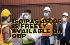 ไอเอสโอห่วงใยความปลอดภัยคนทำงานในภาวะโรคระบาด
