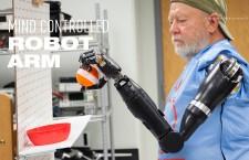 """พบกับหุ่นยนต์แขนเทียม ใช้ """"ใจ"""" สั่งการ"""
