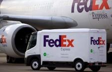 การทดสอบยานพาหนะไฟฟ้าแบบใหม่ของบริษัท FedEx
