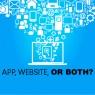 บริษัทของเราควรใช้อะไรดี แอพหรือเว็บไซต์