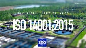 ความคืบหน้าของมาตรฐานระบบการจัดการสิ่งแวดล้อมฉบับใหม่ ISO 14001: 2015