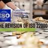 ไอเอสโอกำลังแก้ไข ISO 22000
